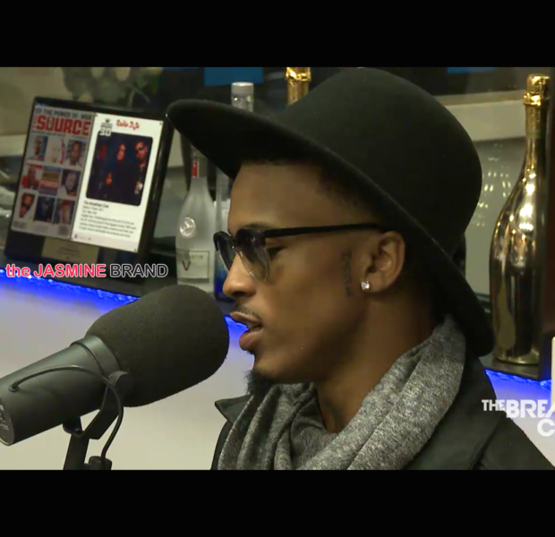 August Alsina Recalls Seeing Deceased Brother While In 3 Day Coma [VIDEO]