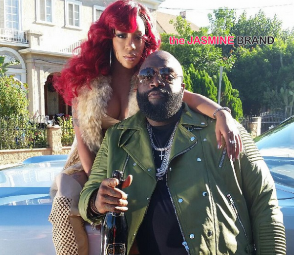 Behind the Scenes-Rick Ross-K.Michelle-If They Knew Video-the jasmine brand