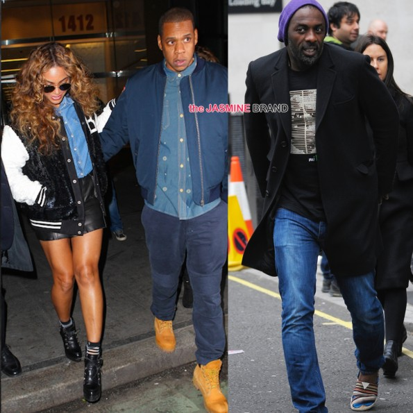 Beyonce-Jay Z in NYC-Idris Elba Leaves BBC-the jasmine brand
