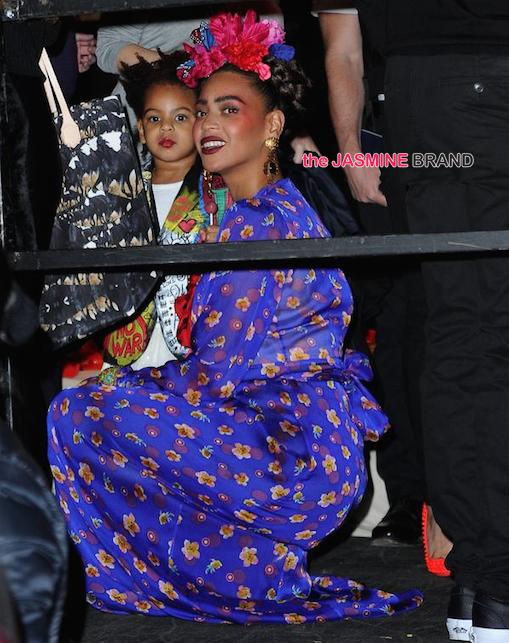 Blue Ivy-Beyonce As Frida Kahlo-Halloween 2014-the jasmine brand