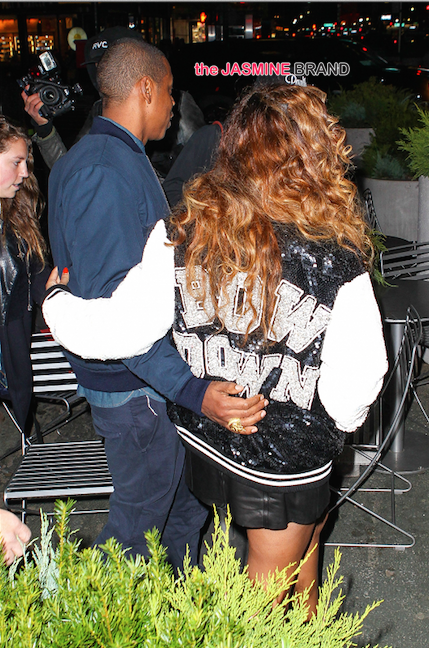 Celebrity Couple-Jay Z and Beyonce in NYC-the jasmine brand