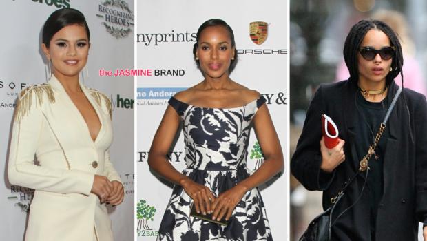 Celebrity Stalking: Kerry Washington, Selena Gomez, Tia Mowry, Zoe Kravitz, JoJo, Kat Deluna [Photos]