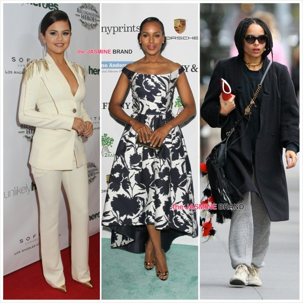 Celebrity Sightings-Selena Gomez-Kerry Washington-Zoe Kravitz-the jasmine brand