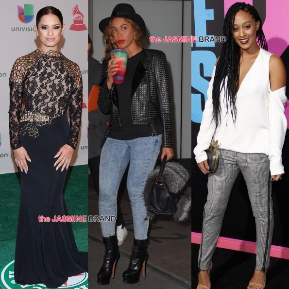Celebrity Spottings-Rocsi Diaz-Beyonce-Tia Mowry-the jasmine brand