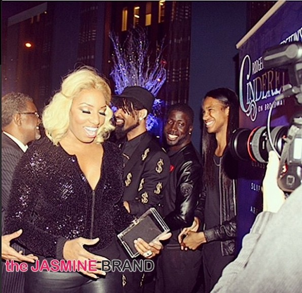Celebs Attend-NeNe Leakes Cinderella Broadway Debut-the jasmine brand