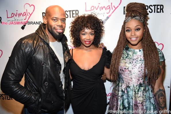 Chrisette Michele Hosts Imported Peach Party-Derek Blanks-Shenell Mays-the jasmine brand