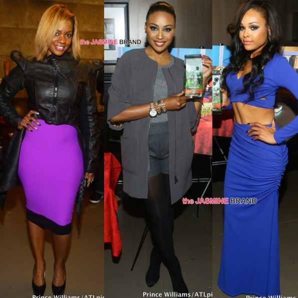 Christina Johnson-Cynthia Bailey-Demetria McKinney-Peter Thomas Coffee Launch-the jasmine brand