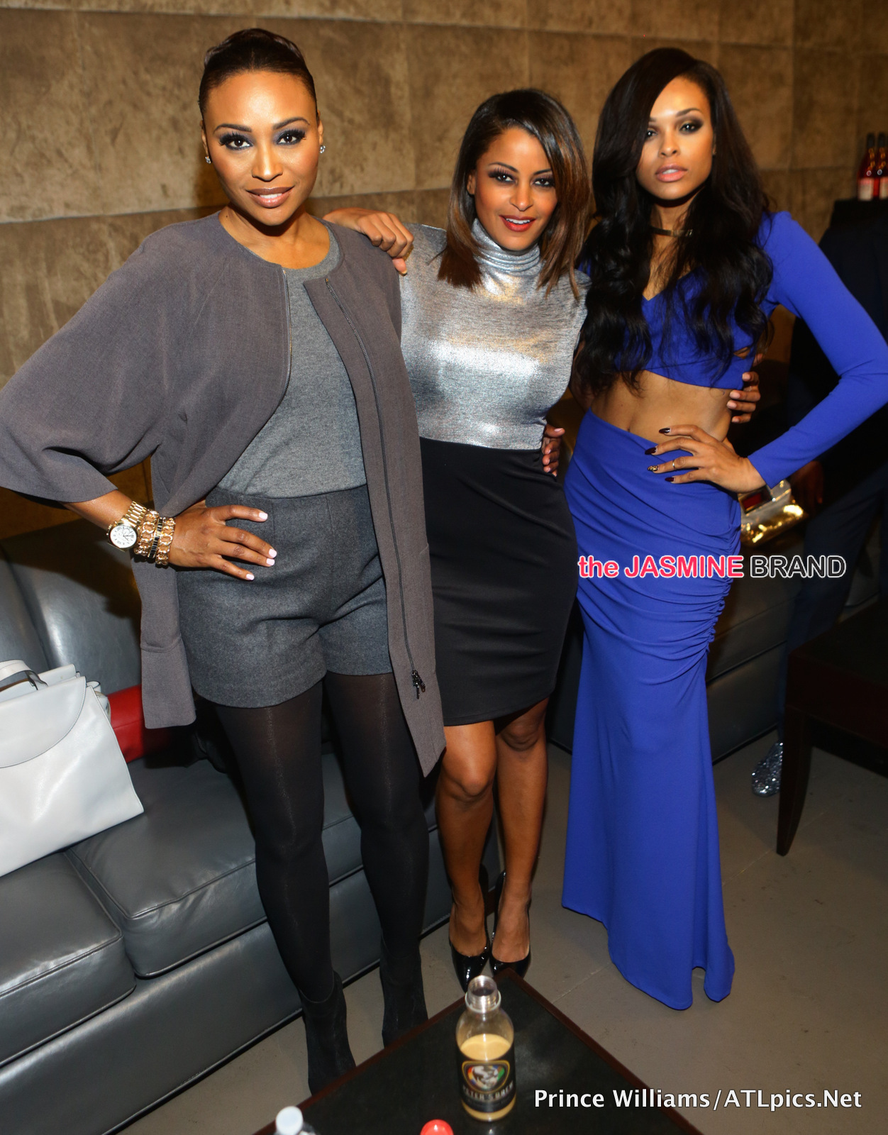 Cynthia Bailey-Claudia Jordan-Demetria McKinney-Peter Thomas Coffee Launch-the jasmine brand
