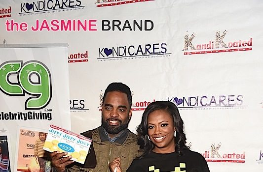 Kandi Burruss & Todd Tucker Give Back, Host Kandi C.A.R.E.S. [Photos]
