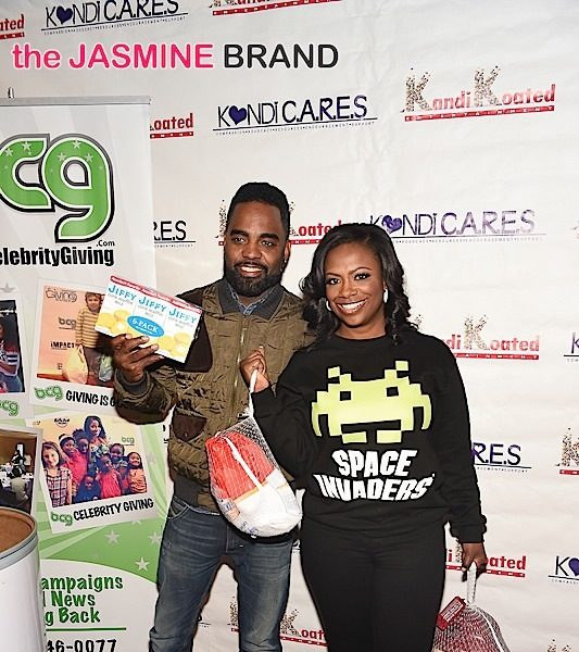 Kandi Burruss & Todd Tucker Give Back, Host Kandi C.A.R.E.S. [Photos]