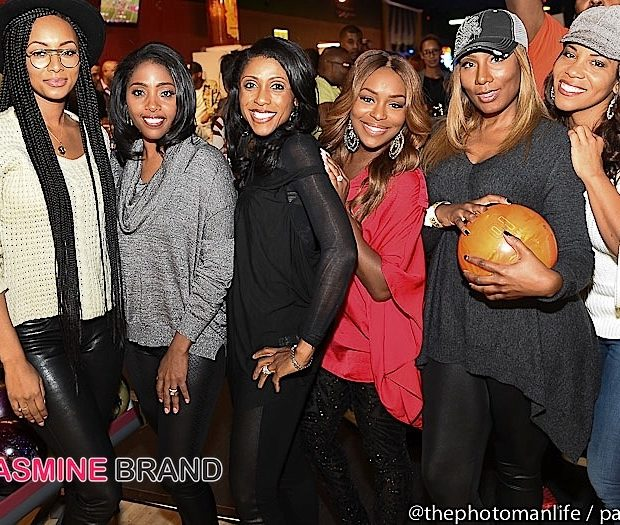 Keri Hilson, Tiny Harris, Keshia Knight-Pulliam, Towanda Braxton Attend Ryan Cameron's Charity Bowling Night [Photos]