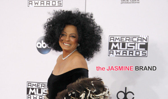 Diana Ross Assures Fans She's Fine After Car Accident