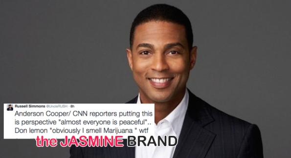 Don Lemon-Criticized-Marijuana Comment Ferguson-the jasmine brand