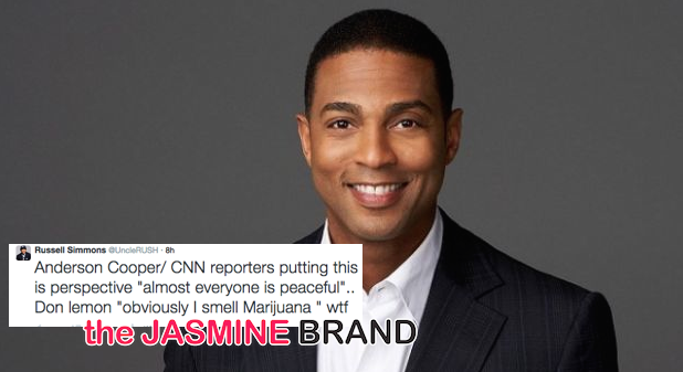 Twitter Criticizes CNN's Don Lemon For 'Marijuana' Reference During Ferguson Coverage