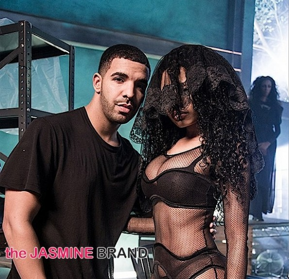 Drake-Nicki Minaj-BTS Only Video-the jasmine brand