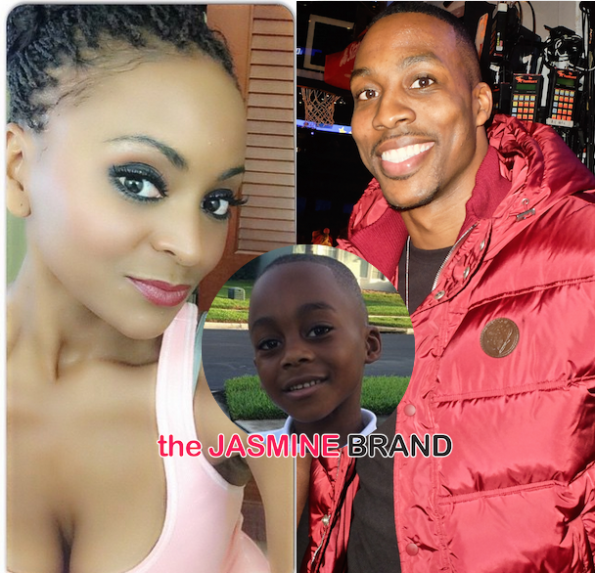 Dwight Howard-Royce Reed-Argue Child Abuse Allegations-Full Custody-the jasmine brand