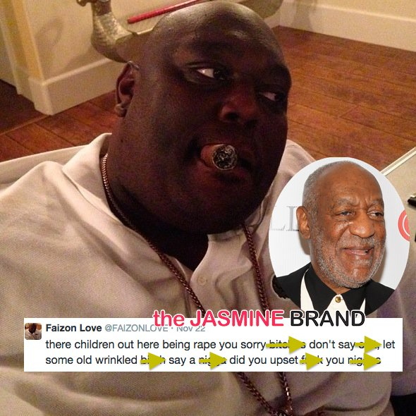 Chief Keef, Faizon Love Jump to Bill Cosby's Defense: You house n*gg*s jump on the bandwagon!