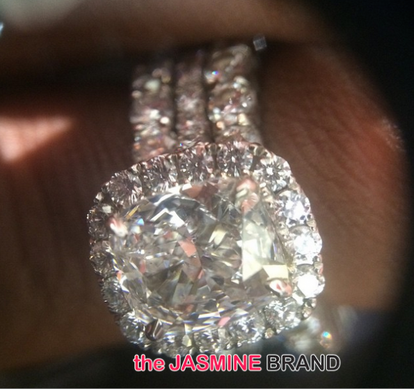 Fantasia Rumored Wedding Ring-the jasmine brand
