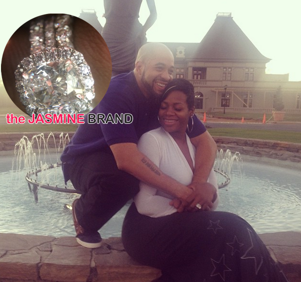 Fantasia Debuts Rumored Wedding Ring, Beams: He's everything I prayed for!
