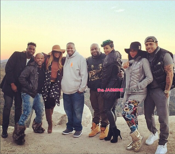 Former LHHA Stars-Benzino and Althea Spotted With Tamar Braxton Vincent Herbert-the jasmine brand