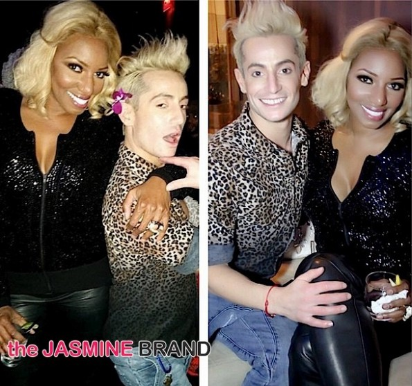 Frankie James Grande-Celebs Attend-NeNe Leakes Cinderella Broadway Debut-the jasmine brand