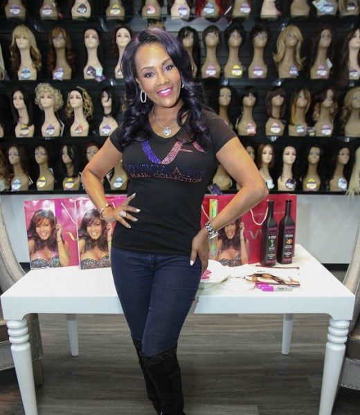 Vivica A. Fox Promotes Wig Line In Atlanta [Photos]