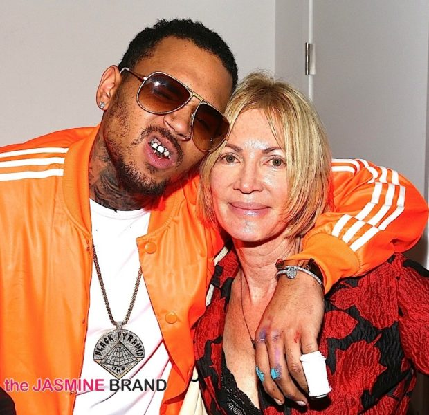 Chris Brown Showcases Art Work At 'Andy Goes Street Art' Show [Photos]