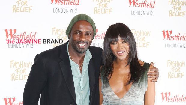 Naomi Campbell Reacts to Rumors She's Dating Idris Elba [VIDEO]