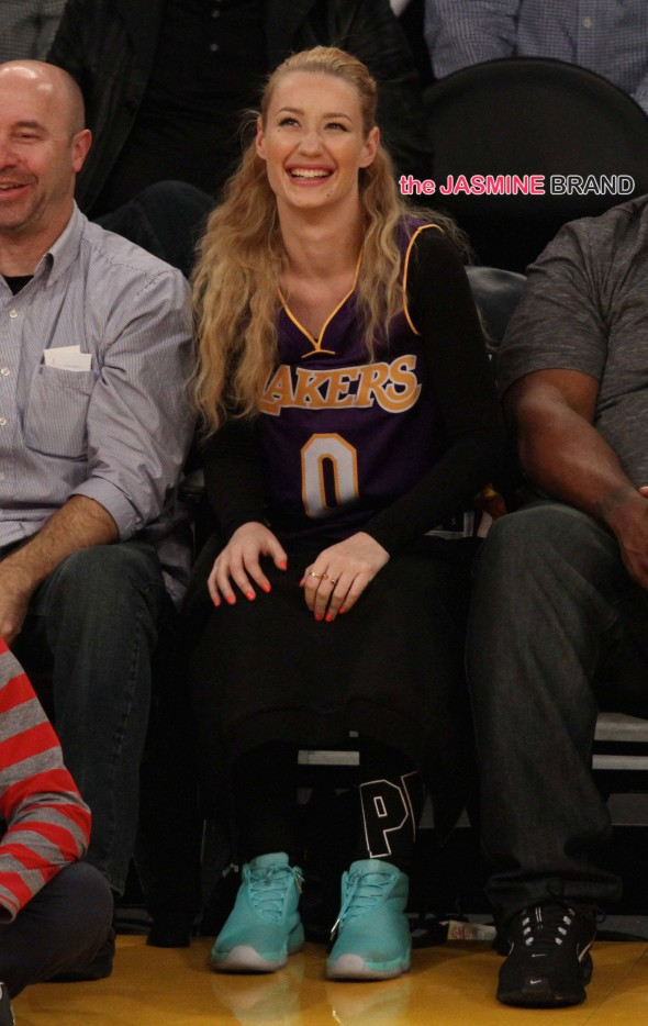 Iggy Azalea shows her love for Nick Young
