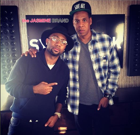 Jas Prince-Jay Z-Rihanna listening sessin-the jasmine brand