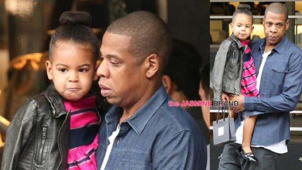 Celebrity Stalking: Blue Ivy & Jay Z, Kenya Moore, Rihanna, Naturi Naughton, Adrienne Bailon