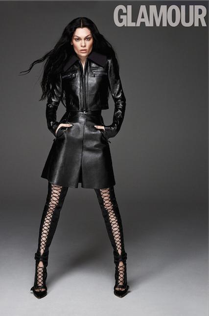 Jessie J-Glamour Cover January 2015-the jasmine brand