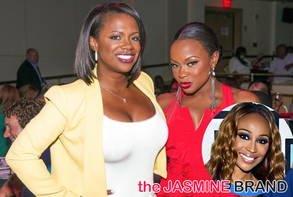 Kandi Burruss, Phaedra Parks Criticize Cynthia Bailey: She goes overboard.