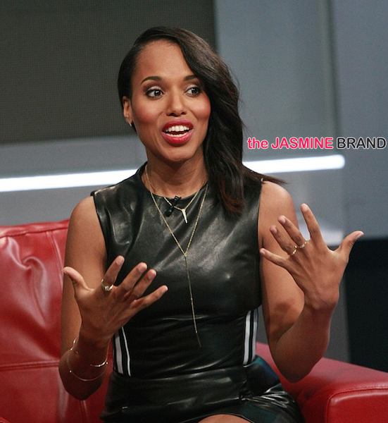 Kerry Washington On Being Famously Private: You're Not Worried About My Life, You're Worried About Olivia Pope's Life.