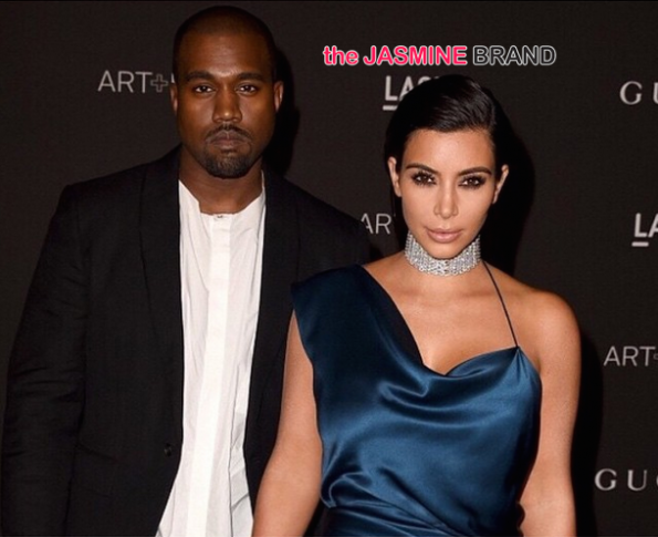 Kim Kardashian and Kanye West-LACMA-Art and Film Gala 2014-the jasmine brand