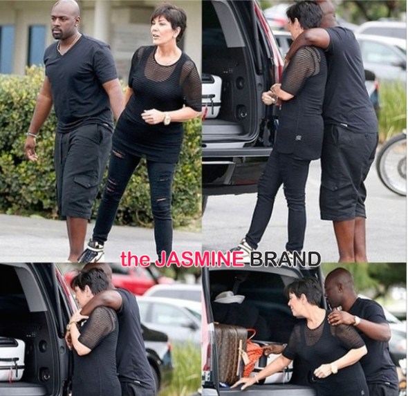 Celebrity Cup Cakin: Kris Jenner Spotted With Rumored Boyfriend Corey Gamble