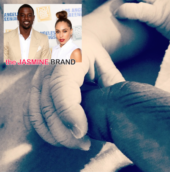 Lance Gross & Girlfriend Rebecca Jefferson Welcome Baby Boy Berkeley Brynn Gross-the jasmine brand