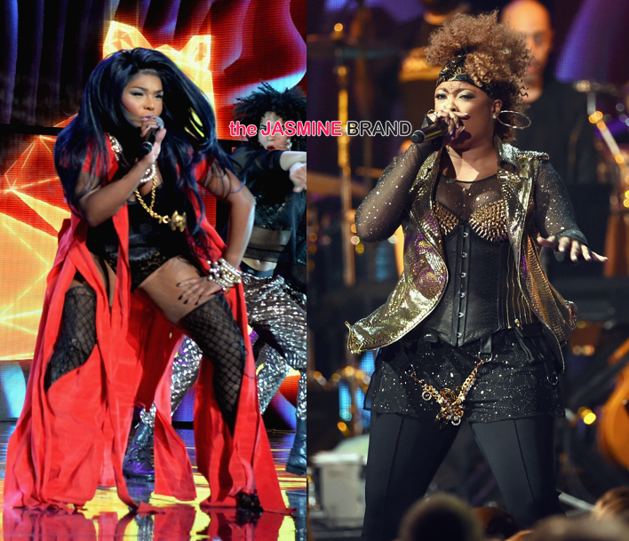 Lil Kim and Da Brat-Soul Train Awards 2014-the jasmine brand
