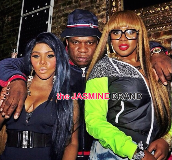 Lil Kim and Remy Ma-the jasmine brand