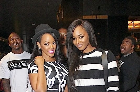 Floyd Mayweather, K.Michelle, Malaysia Pargo Spotted At Def Comedy Live [Photos]