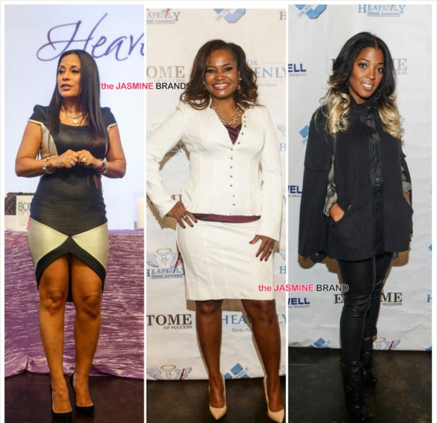 Married to Medicine's Dr. Heavenly, Dr. Simone, Toya Bush-Harris, Lisa Nicole Cloud & Newbie Host Mentoring Seminar [Photos]
