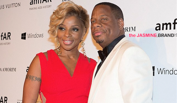 Mary J. Blige Doesn't Allow Husband to Have Female Friends: I've never seen that work.