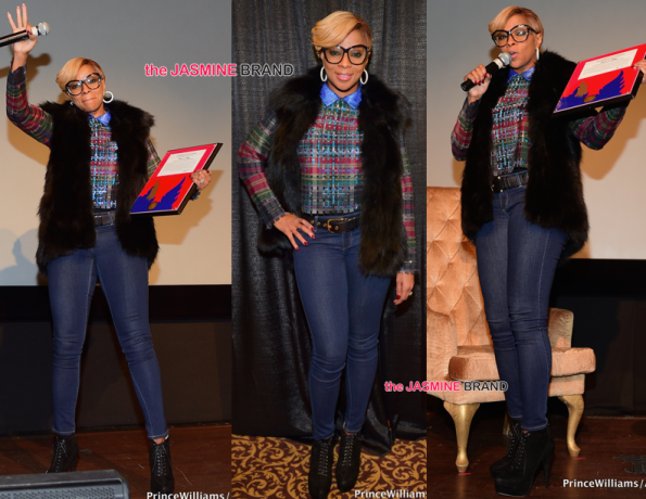 Mary J Blige-Screening-London Sessions Documentary-Atlanta-the jasmine brand