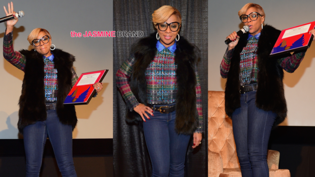 Mary J. Blige Hosts Intimate 'Q&A' For London Sessions Documentary [Photos]