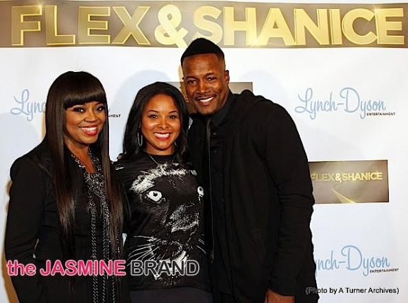 Mechelle Epps-Flex & Shanice Premiere Party 2014-the jasmine brand