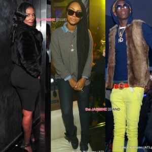 Momma Dee-Keri Hilson-Yung Thug-DJ Holiday Atlanta Party-the jasmine brand