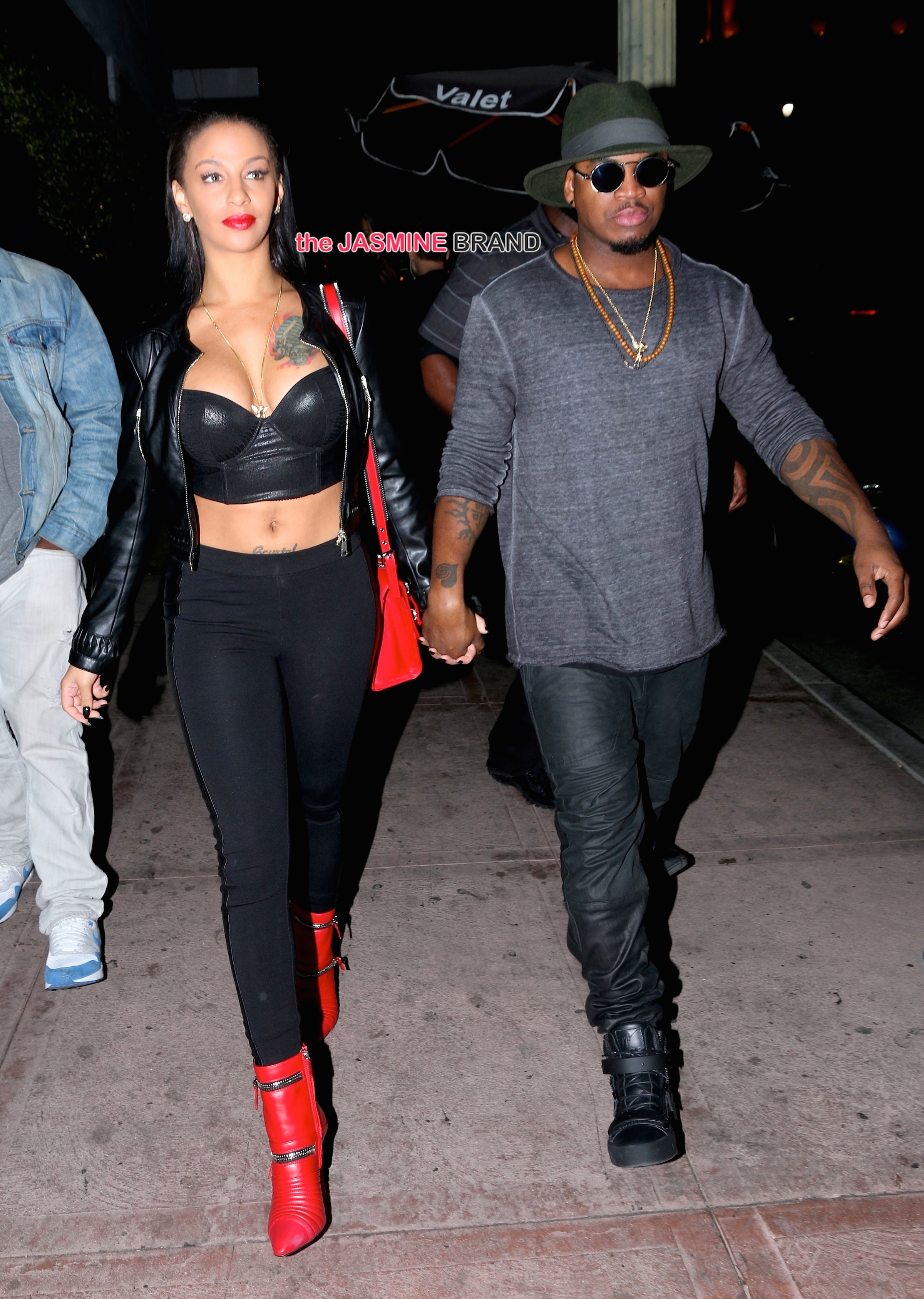 Ne-Yo and Mohammad Molaei Concert Arrivals at Project Nightclub in Hollywood - November 26, 2014