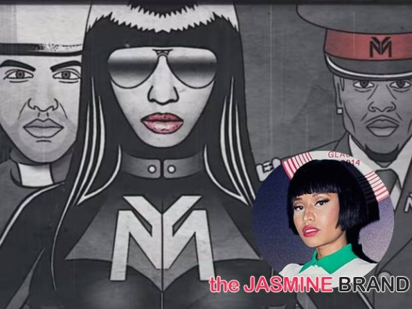 Nicki Minaj-Apologizes for Nazi Imagery-Only Video-the jasmine brand