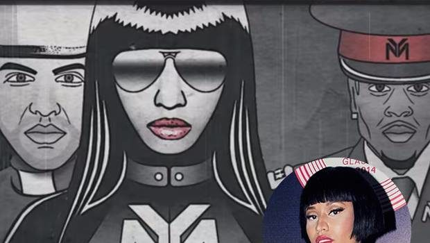 Nicki Minaj Under Fire For Alleged Use of Nazi Imagery In Video: I'm sorry & take full responsibility.