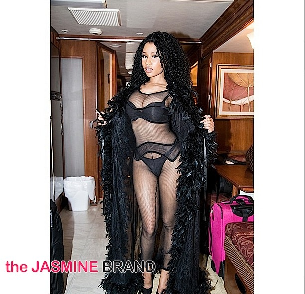 Nicki Minaj Releases UBER Sexy 'Only' Photos
